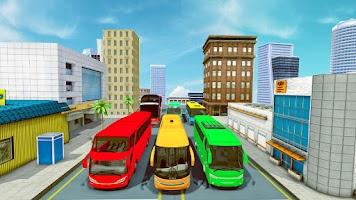 Coach Bus Simulator Games: Bus Driving Games 2021