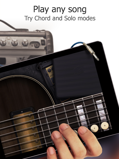 Real Guitar Free - Chords, Tabs & Simulator Games apkpoly screenshots 14