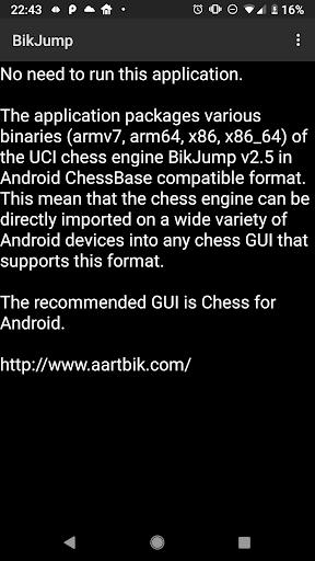 BikJump Chess Engine  screenshots 3