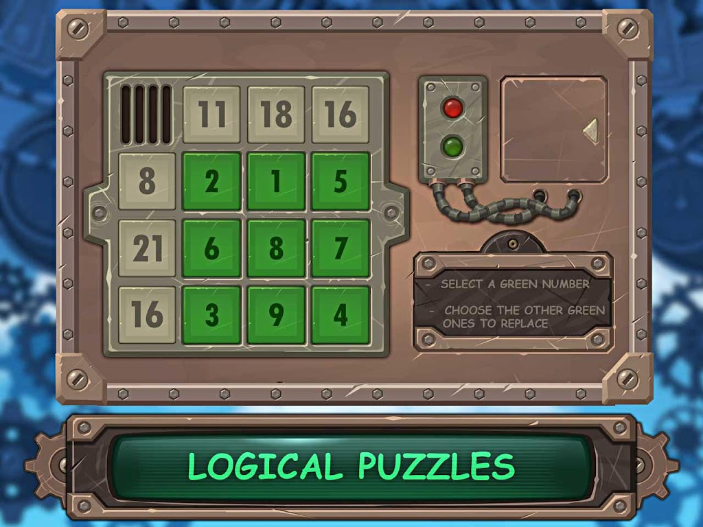 Metal Box ! Hard Logic Puzzle  poster 9