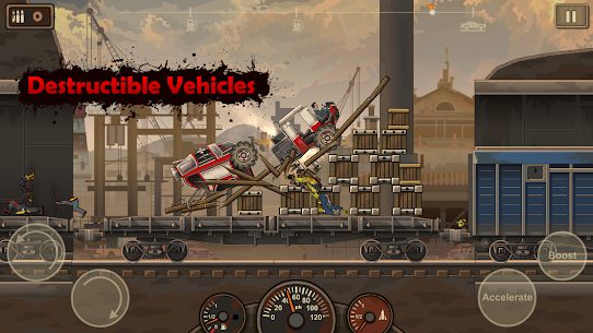Earn to Die 2 MOD APK (unlimited money/all cars unblocked) 3