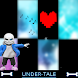 Piano for Video Game undertale sans and deltarune - Androidアプリ