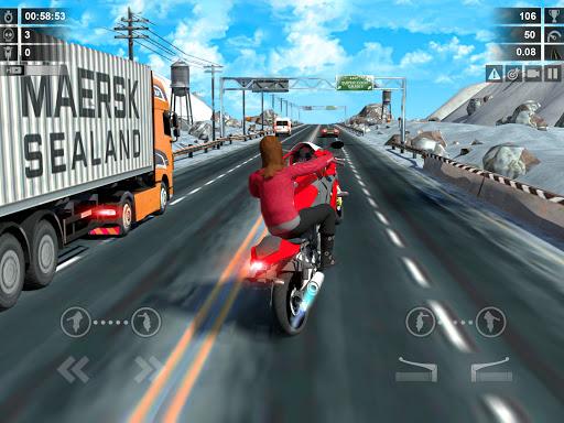 Traffic Racer: Dirt Bike Games apkdebit screenshots 9