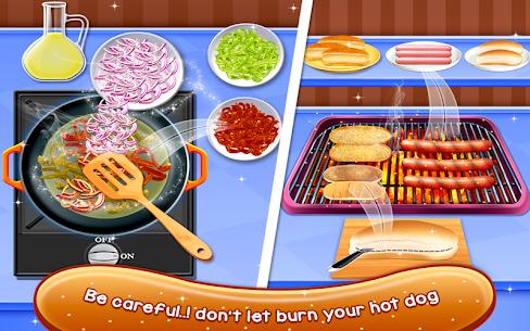 Crazy Hot Dog Maker – Crazy Cooking Adventure Game 1.0.2 Mod APK (Unlock All) 2