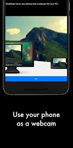 DroidCamX – HD Webcam for PC Apk 1