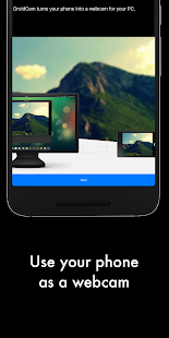 DroidCamX - HD Webcam for PC Screenshot
