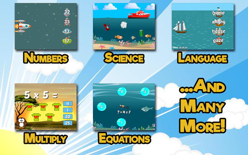 Second Grade Learning Games 5.3 screenshots 2