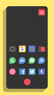 Minimo Icon Pack 8.0 Apk 1