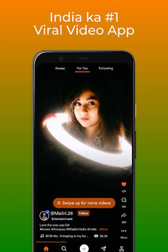Mitron - India's Original Short Video App   Indian Apkfinish screenshots 9
