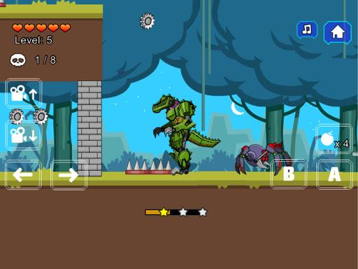 Robot Crocodile Toy Robot War  screenshots 14