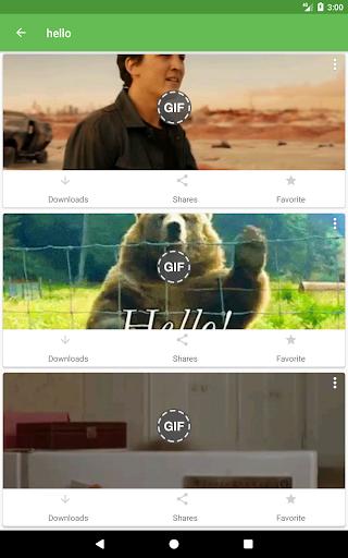 Whats a Gif - GIFS Sender(Saver,Downloader, Share) 2.2.15.0 Screenshots 9