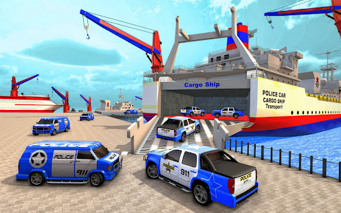 Police Plane Transport: Cruise Transport Games 1.12 Screenshots 1