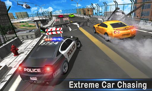 police chase car driving simulator : cops car game screenshot 1