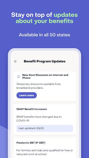 Providers: Manage your EBT, other benefits & debit Apkfinish screenshots 4