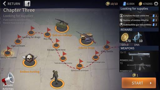 Télécharger Zombie City : Dead Zombie Survival Shooting Games  APK MOD (Astuce) screenshots 1