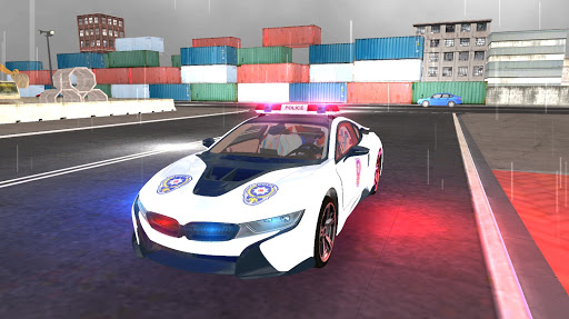 American i8 Police Car Game 3D 1.1 screenshots 11