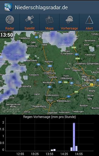 NiederschlagsRadar.de  screenshots 7