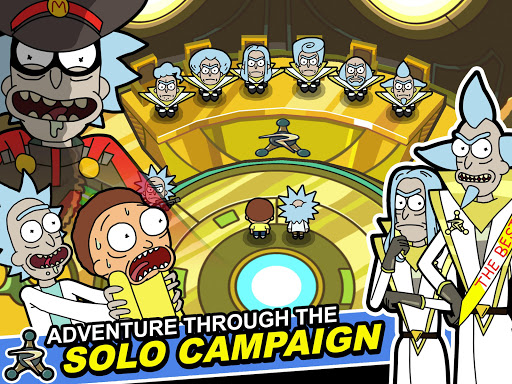 Rick and Morty: Pocket Mortys apkslow screenshots 10