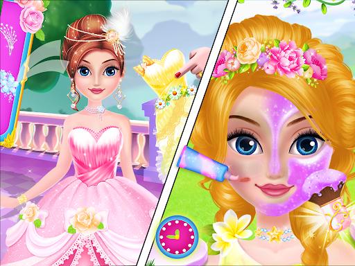 Princess flower garden - Cleaning & decoration apk 1.0 screenshots 3