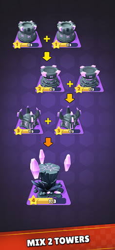 Mini War:Idle Tower Defense Varies with device screenshots 7