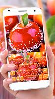 Red Donut Apple Keyboard Theme