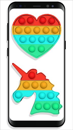 pop it Fidget Cubes - calming sounds making toys screenshots 2