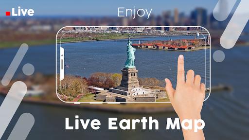 Live Earth Map Pro-Satellite View, World Map 3D  Screenshots 1