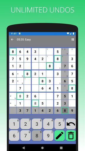 SUDOKU - Offline Free Classic Sudoku 2021 Games  screenshots 5