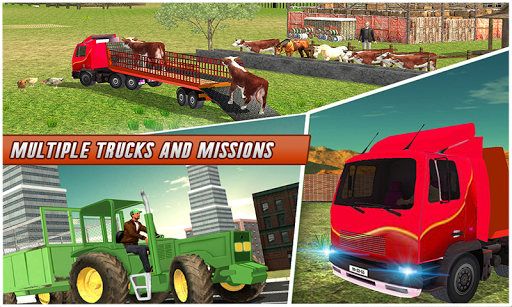 Farm Animal Transport Truck Simulator Driver 2020 2.7 Screenshots 5