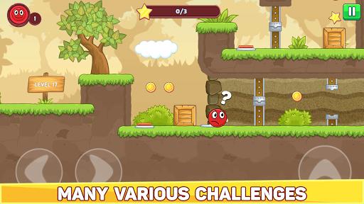 Bounce Ball 5 - Jump Ball Hero Adventure 3.9 Screenshots 4