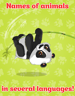 Animals and Animal Sounds: Game for Toddlers, Kids