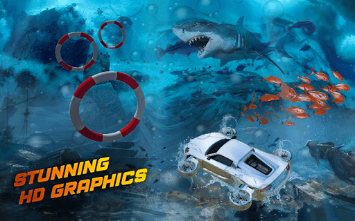 Underwater Flying Car Game 1.0.2 screenshots 13