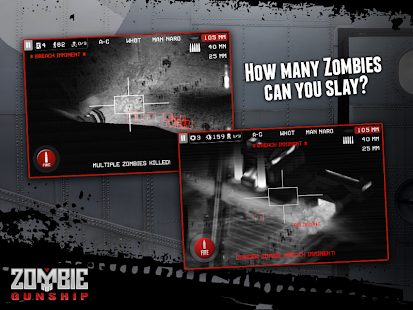 Zombie Gunship: Kill Zombies Dead Survival Shooter Screenshot