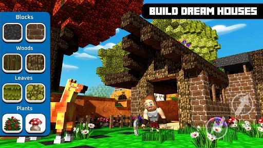Castle Crafter - World Craft modiapk screenshots 1