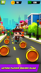 KIDDY RUN - Blocky 3D Running Games & Fun Games 1.04