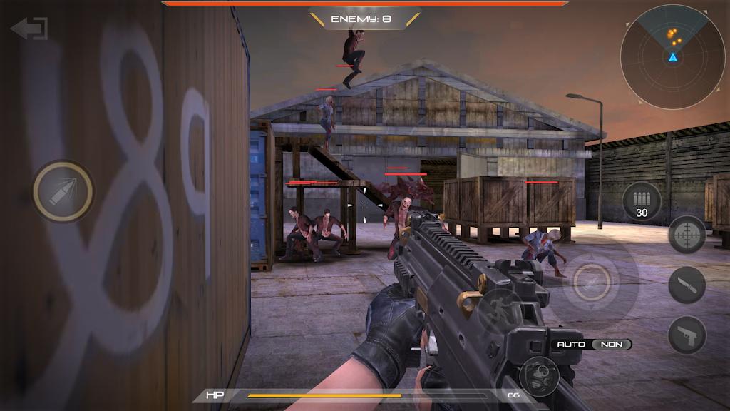zombie comando shooting:offline fps military-games  poster 4