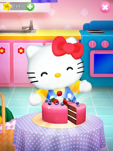 Talking Hello Kitty - Virtual pet game for kids  screenshots 9