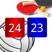 Volleyball Pong Scoreboard, Match Point Scoreboard
