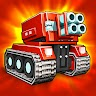 Blocky Cars - tank wars & shooting games icon