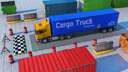 New Truck Parking City Drive : Free Game 2021 1.0 screenshots 9