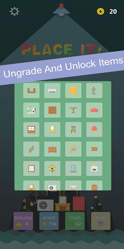 Place It - Furniture Puzzle Game android2mod screenshots 2