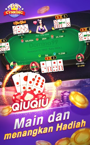Download Gaple Domino Qiuqiu Poker Capsa Ceme Game Online Apk Latest Version Game By Cynking Games For Android Devices