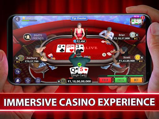 Poker Live! 3D Texas Hold'em 3.0.8 screenshots 13
