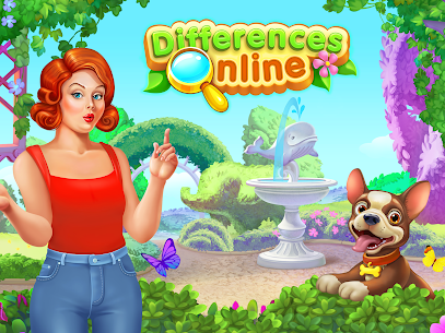 Differences online – Spot IT 8