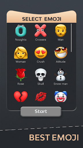 Tic Tac Toe Emoji - Online & Offline 4.5 screenshots 7