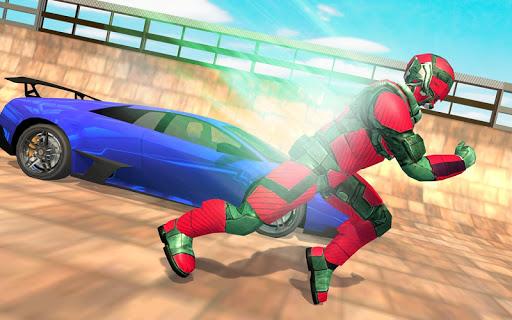 Real Robot Speed Hero apkpoly screenshots 14