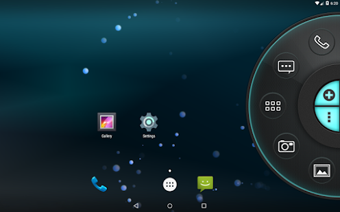 Blue Tech - Wheel Launcher Theme
