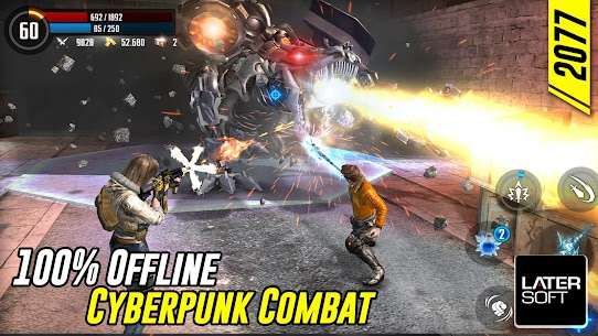 Cyber War: Cyberpunk Reborn Mod Apk 1.0.3 (Free Shopping) 2