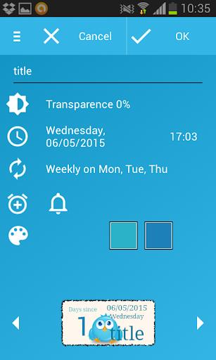 Days  Left (countdown timer) 2.2.1 Screenshots 6