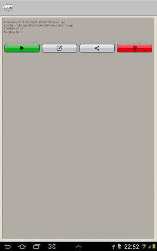 Voice Changer 1.1.39 Screenshots 11